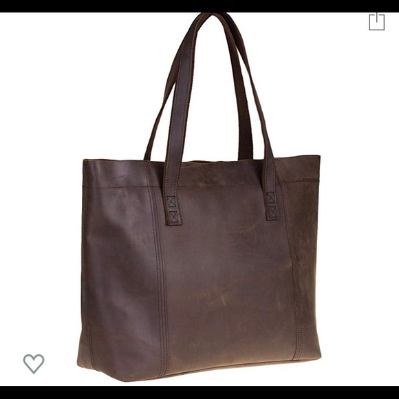 Handbags - Genuine Leather Large Tote!! Perfect Condition!